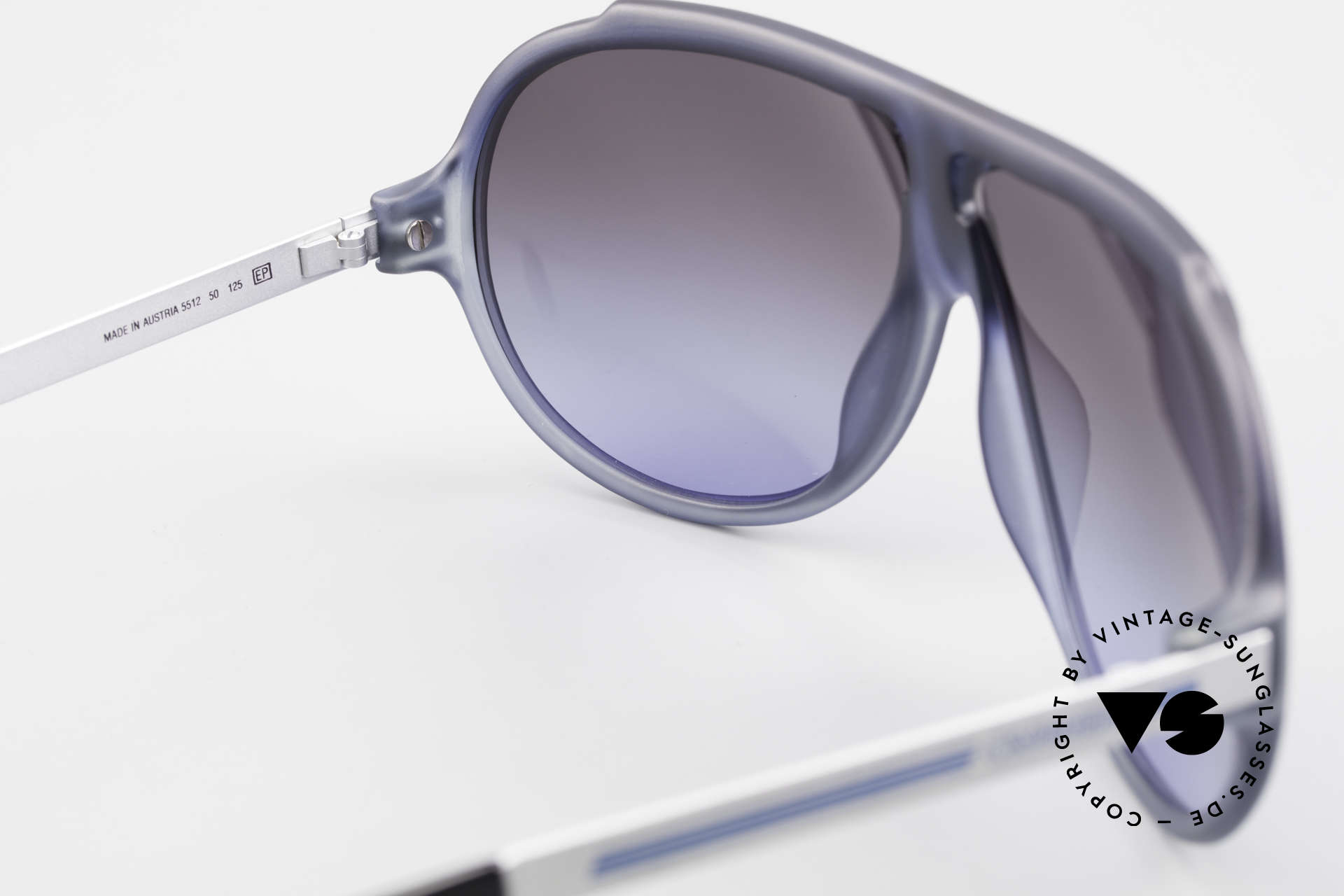 Carrera 5512 Iconic 80's Vintage Sunglasses, NO retro shades; a 30 years old ORIGINAL + Carrera case, Made for Men