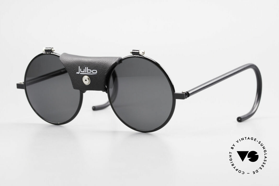 Julbo Vermont Round 90's Sports Sunglasses, VINTAGE sports and glacier sunglasses by JULBO, Made for Men