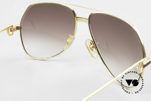 Cartier Vendome Laque - L Luxury Aviator Sunglasses, NO retro sunglasses, but an authentic vintage ORIGINAL, Made for Men