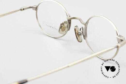 Freudenhaus Zaki Oval Titan Vintage Glasses, Size: medium, Made for Men and Women