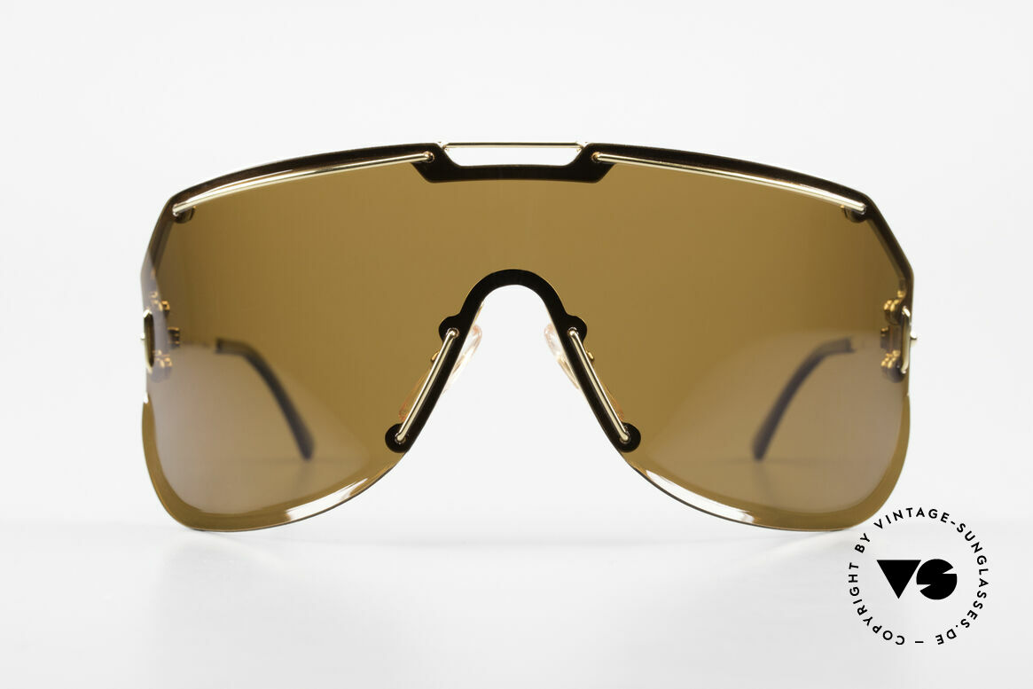 """Boeing 5703 80's Luxury Pilots Shades, 'panorama view"""" design with a polarized lens, 100% UV, Made for Men"""
