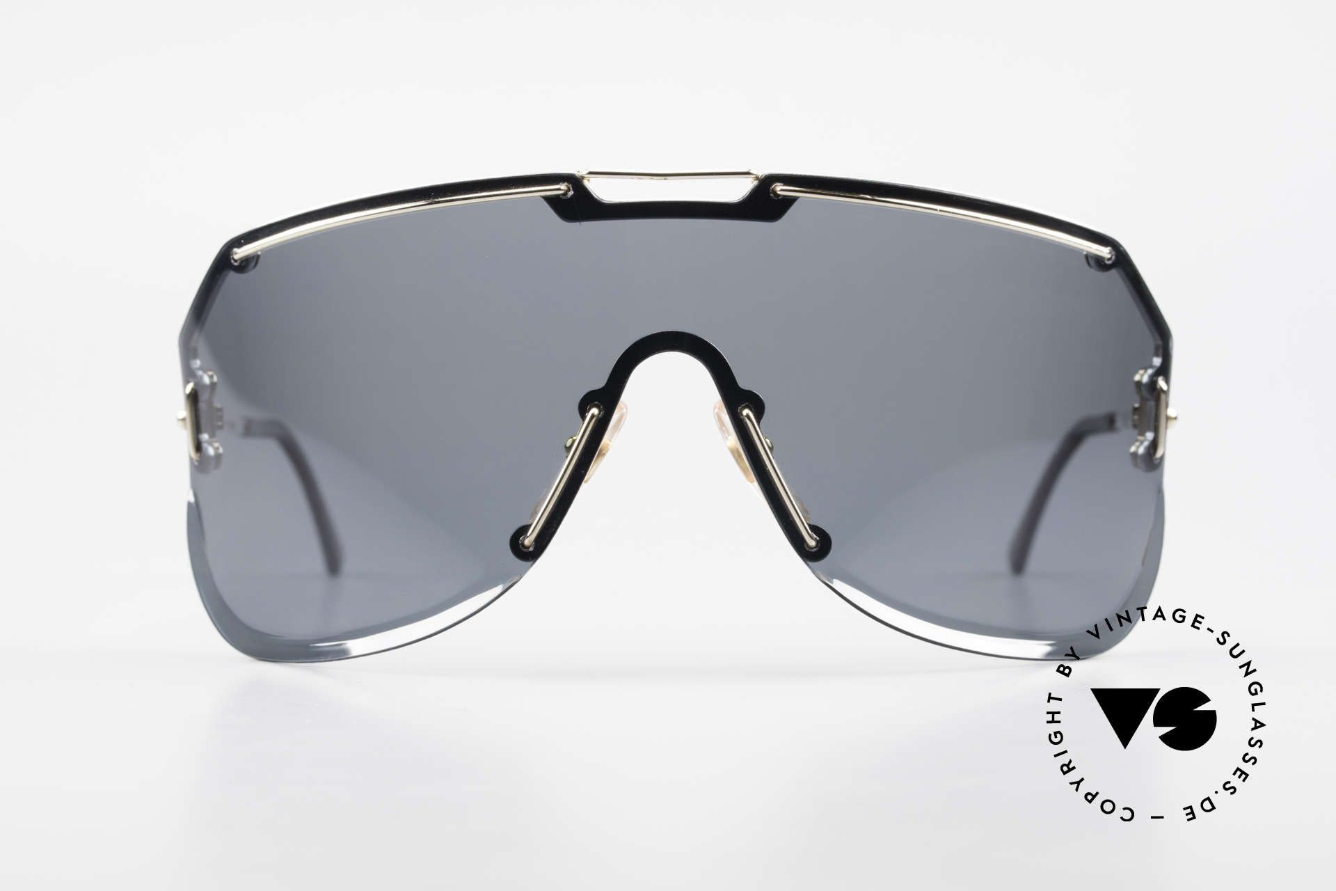 """Boeing 5703 80's Luxury Pilots Sunglasses, 'panorama view"""" design with a polarized lens, 100% UV, Made for Men"""
