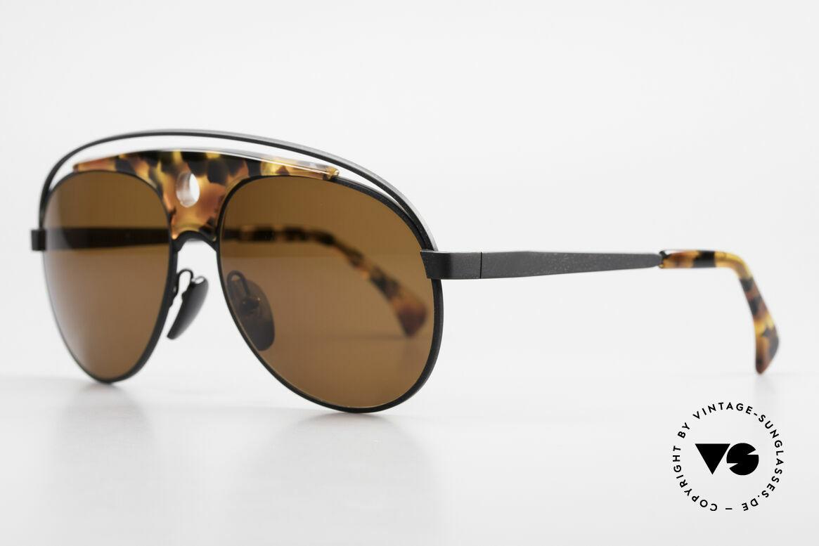 Alain Mikli 633 / 0013 Lenny Kravitz Sunglasses 80's, known as 'Lenny Kravitz' Mikli glasses (just google it!), Made for Men