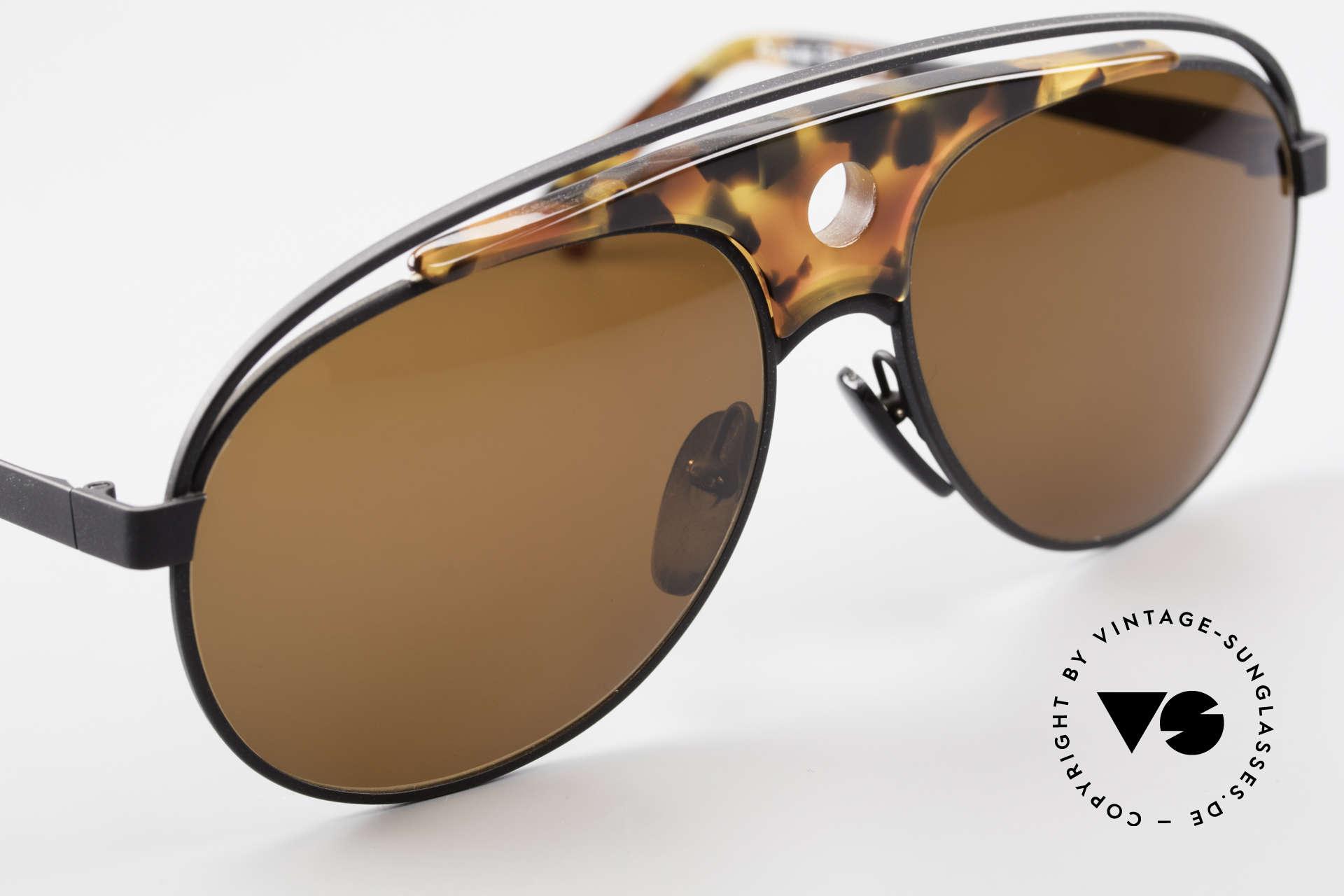 Alain Mikli 633 / 0013 Lenny Kravitz Sunglasses 80's, unworn, one of a kind (like all our vintage Alain Mikli), Made for Men