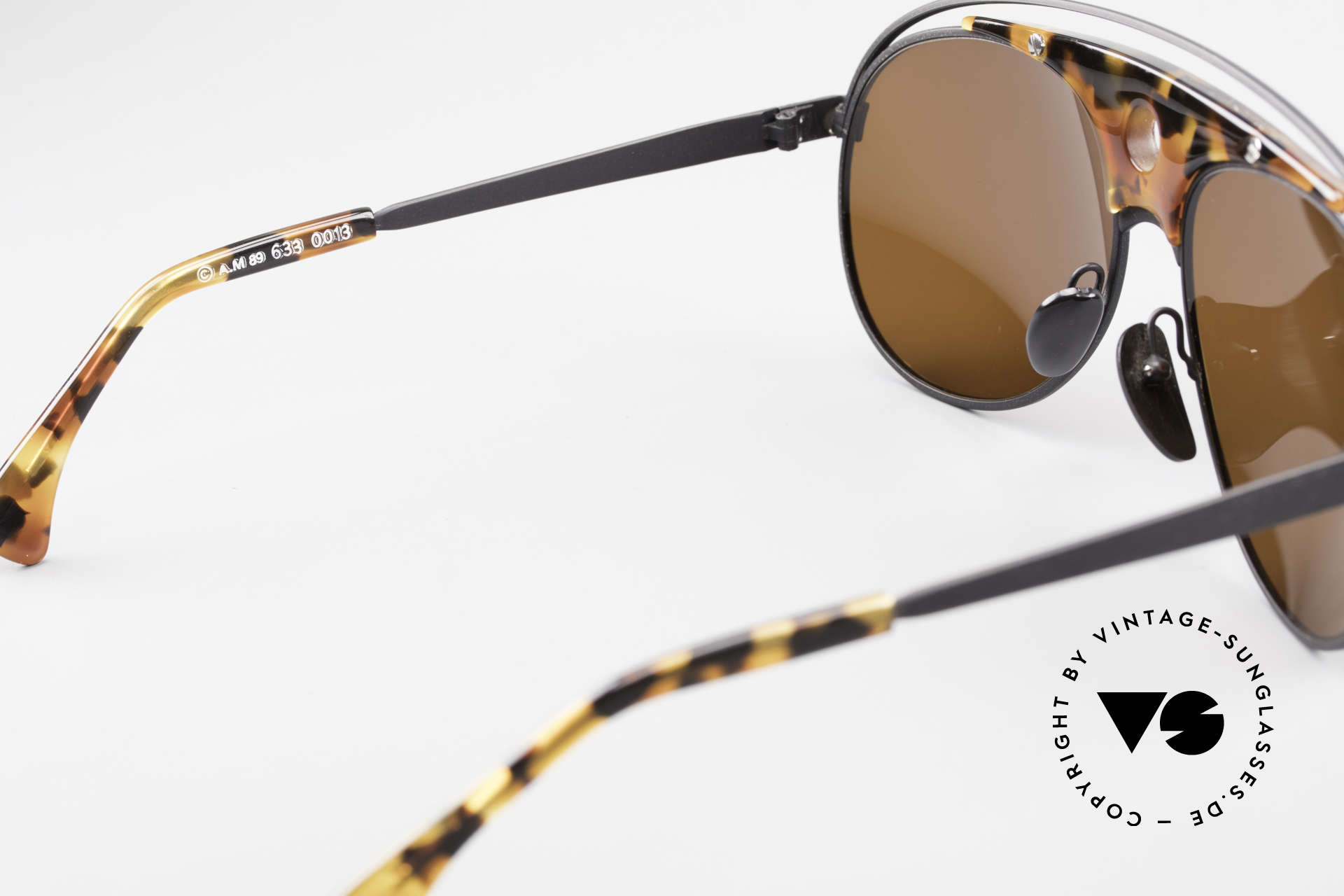 Alain Mikli 633 / 0013 Lenny Kravitz Sunglasses 80's, NO RETRO fashion, but a RARE old 1980's ORIGINAL!, Made for Men