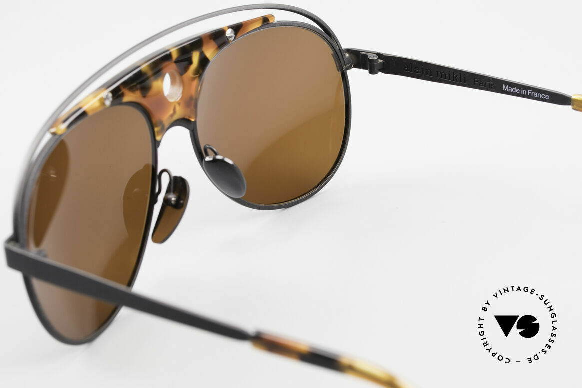 Alain Mikli 633 / 0013 Lenny Kravitz Sunglasses 80's, Size: extra large, Made for Men