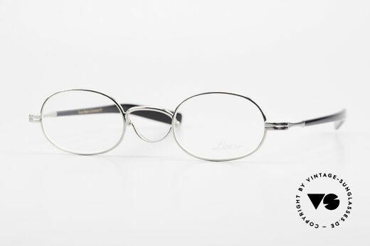 Lunor Swing A 36 Oval Swing Bridge Vintage Glasses Details