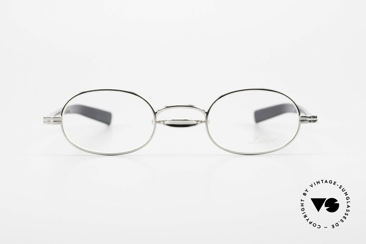 Lunor Swing A 36 Oval Swing Bridge Vintage Glasses, traditional German brand; quality handmade in Germany, Made for Men and Women