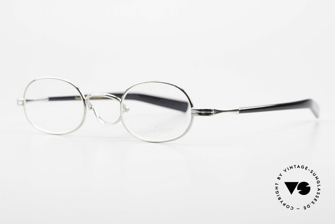 Lunor Swing A 36 Oval Swing Bridge Vintage Glasses, unworn RARITY (for all lovers of quality) in SMALL size, Made for Men and Women