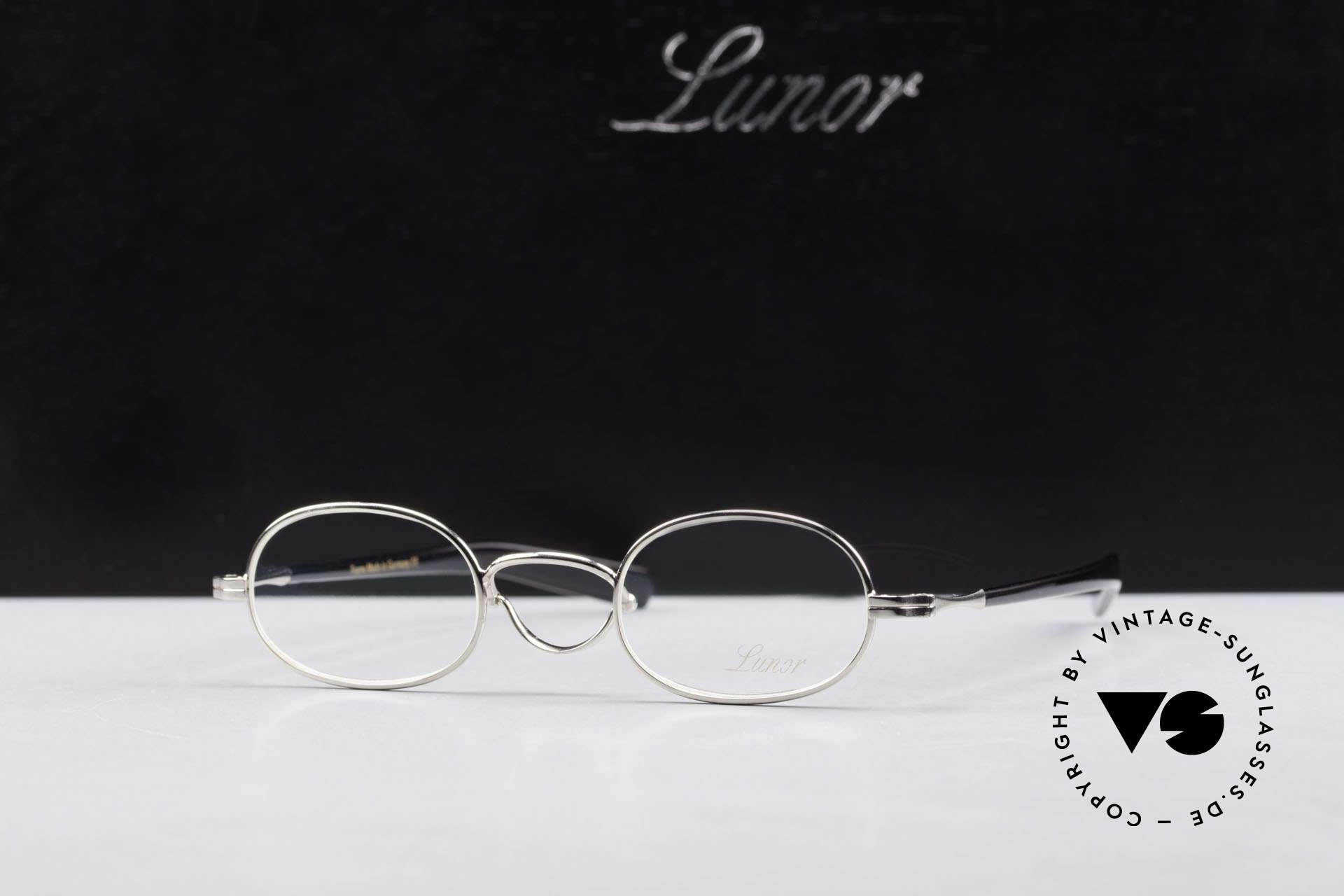 Lunor Swing A 36 Oval Swing Bridge Vintage Glasses, Size: extra small, Made for Men and Women