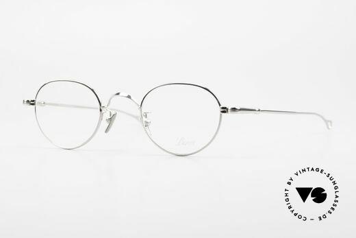 Lunor V 107 Titanium Panto Eyeglasses Details