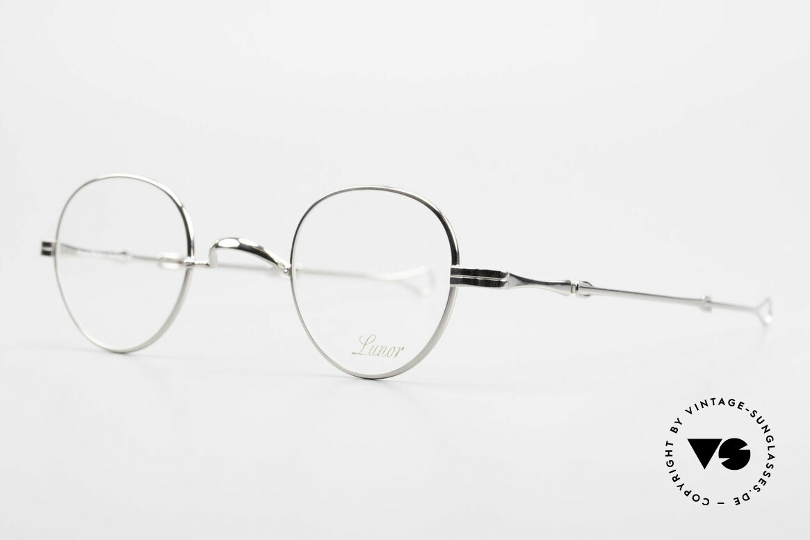 """Lunor I 15 Telescopic Extendable Slide Temples, well-known for the """"W-bridge"""" & the plain frame designs, Made for Men and Women"""