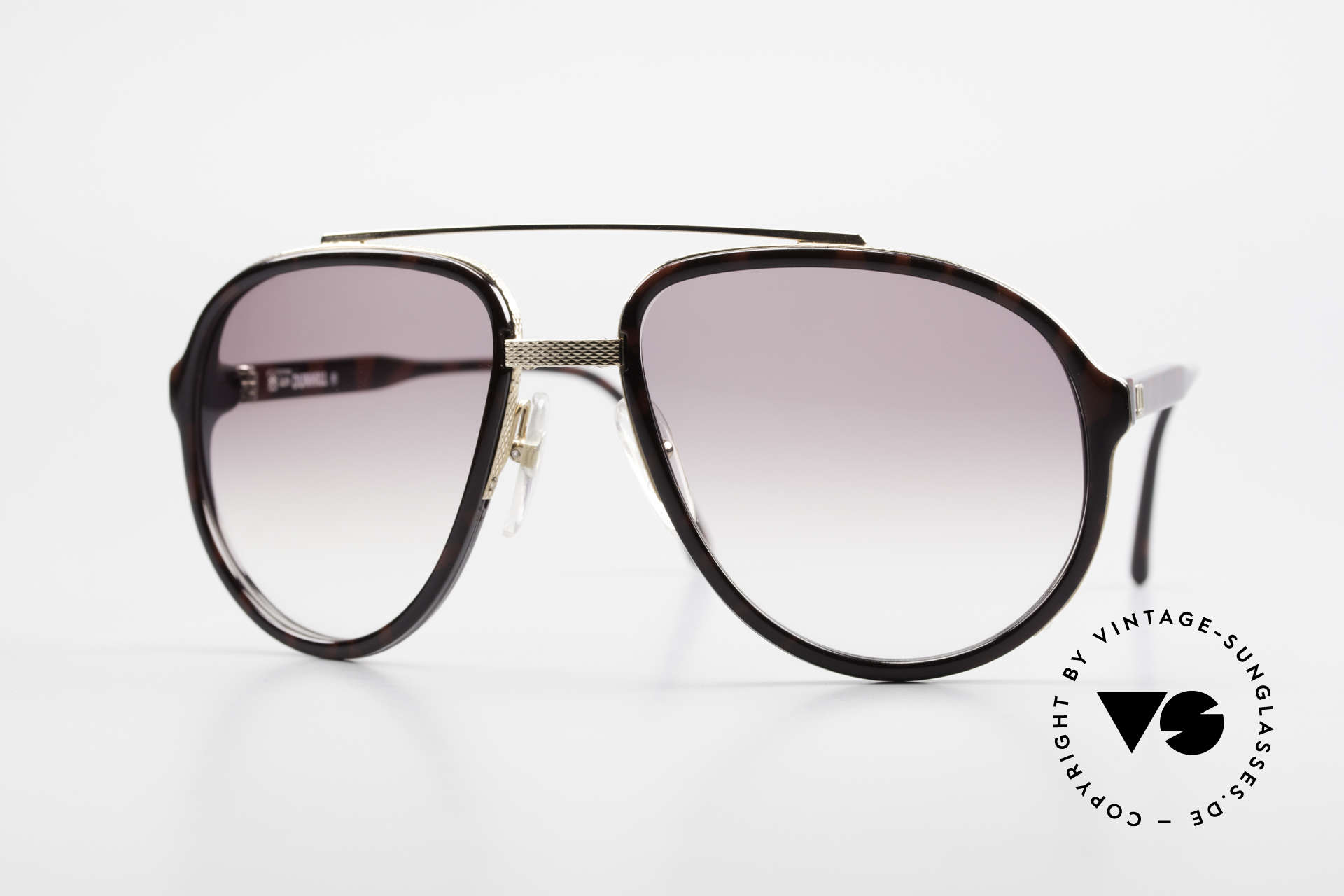 Dunhill 6105 Comfort Fit Luxury Sunglasses, stylish A. Dunhill vintage sunglasses from 1989, Made for Men