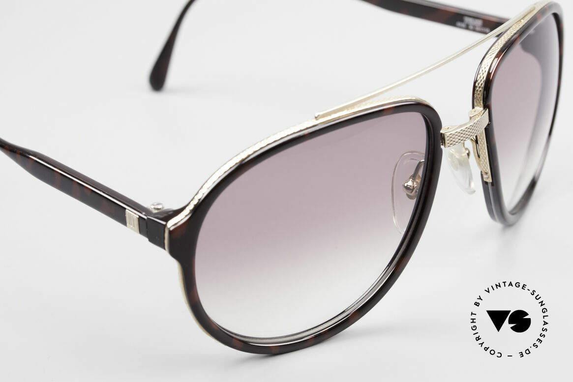 Dunhill 6105 Comfort Fit Luxury Sunglasses, unworn (like all our VINTAGE luxury sunglasses), Made for Men