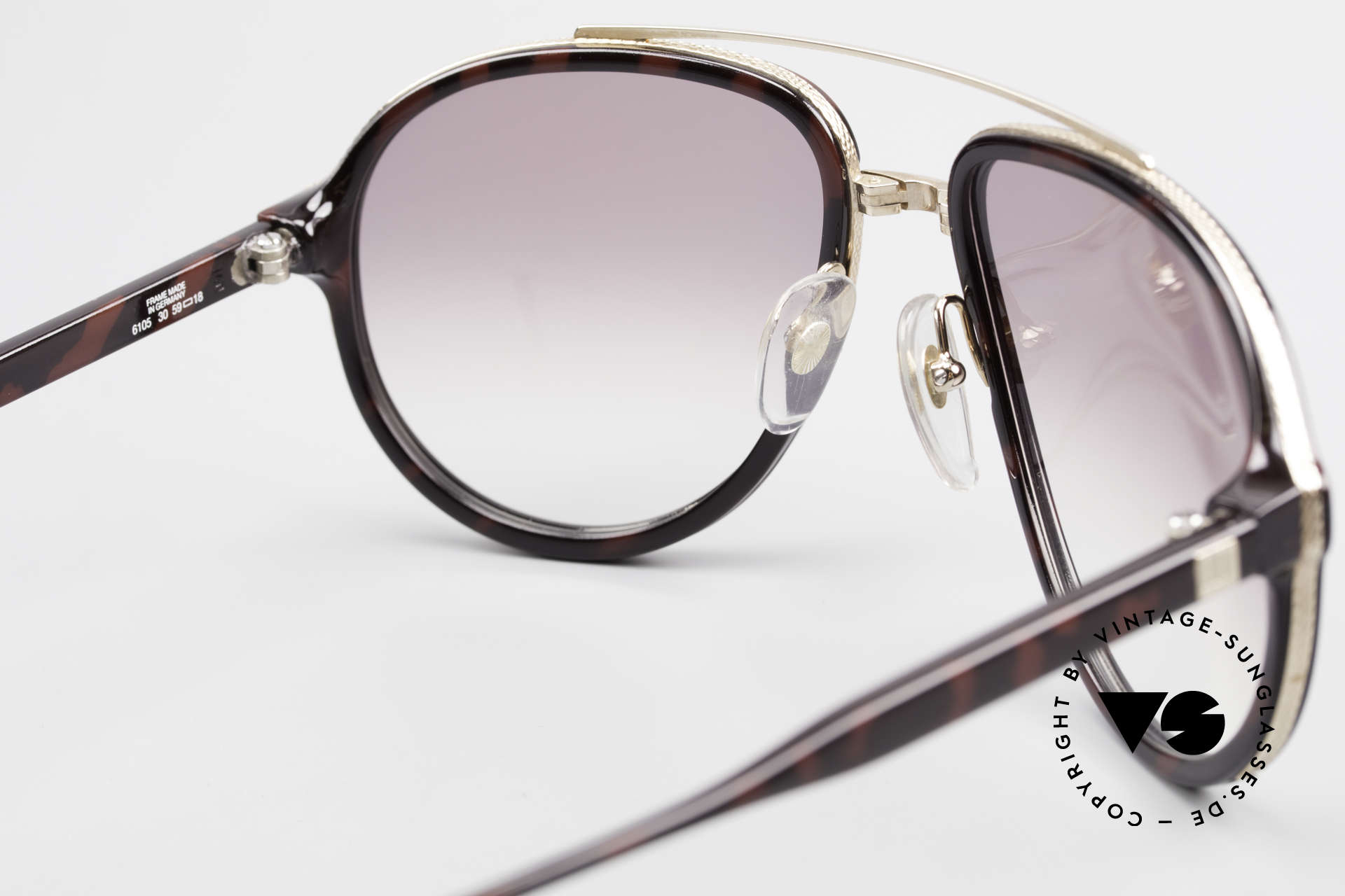 Dunhill 6105 Comfort Fit Luxury Sunglasses, NO RETRO, but a precious 30 years old ORIGINAL, Made for Men