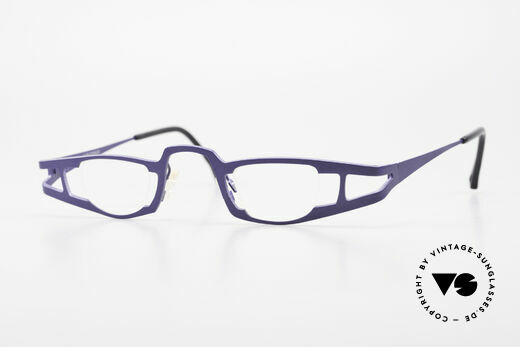Theo Belgium Eye-Witness KO Pure Titanium Reading Specs Details