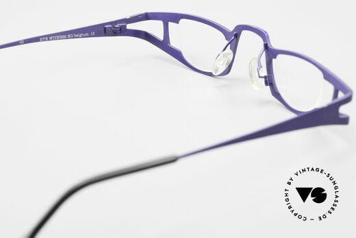 Theo Belgium Eye-Witness KO Pure Titanium Reading Specs, unworn, one of a kind, THEO frames for all who dare ;), Made for Women