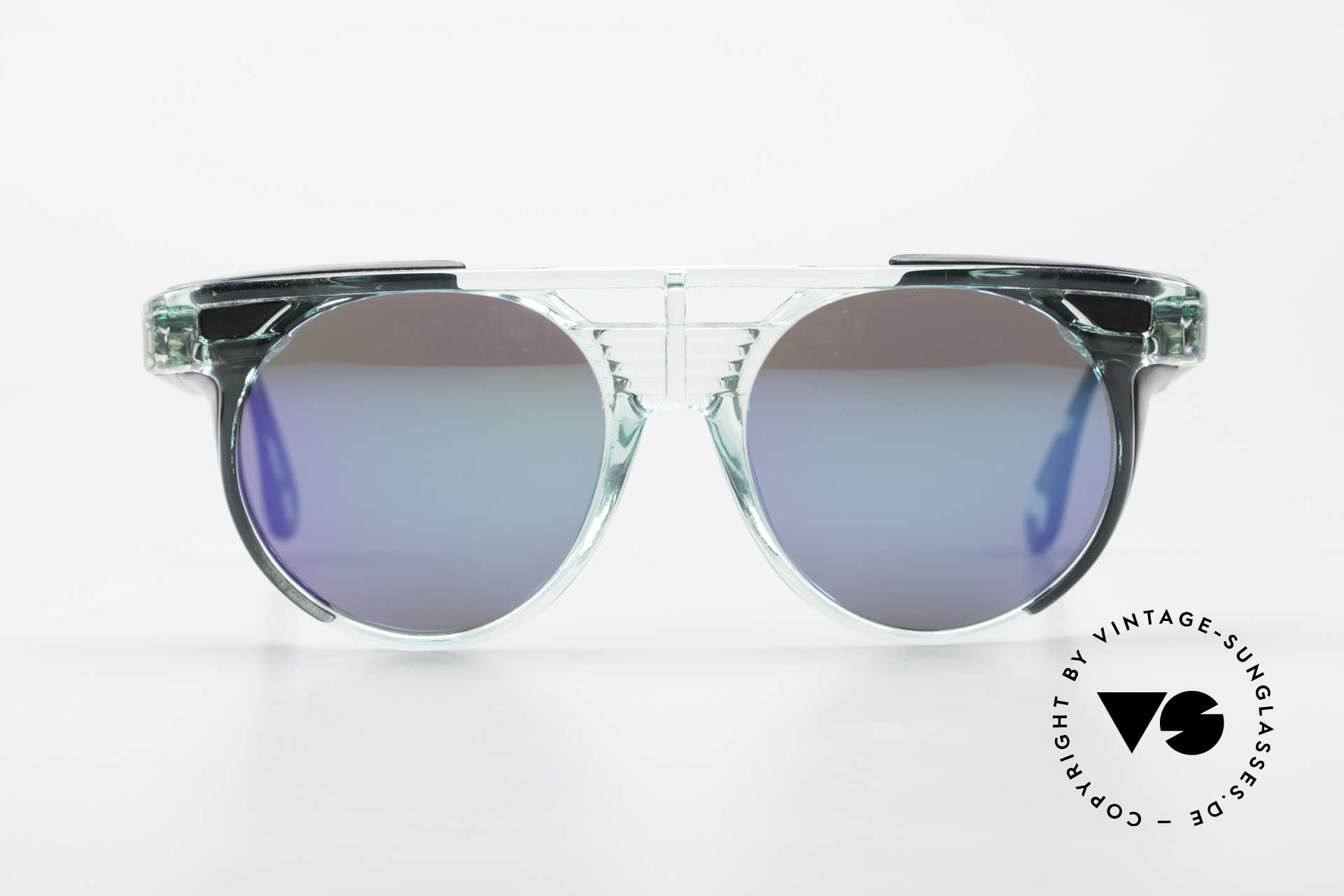 Carrera 5251 Round Sunglasses Steampunk, lightweight frame with extraordinary 'green' coloring, Made for Men and Women