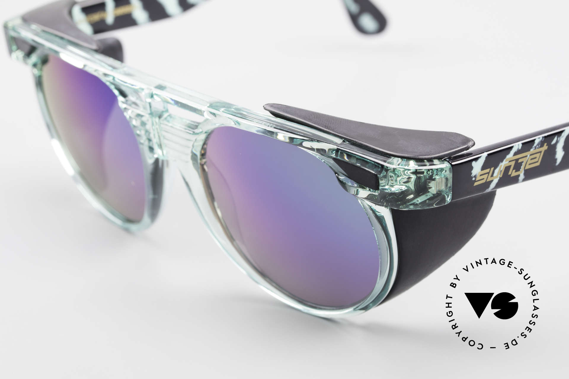 Carrera 5251 Round Sunglasses Steampunk, unworn rarity (like all our vintage shades) from 1995, Made for Men and Women