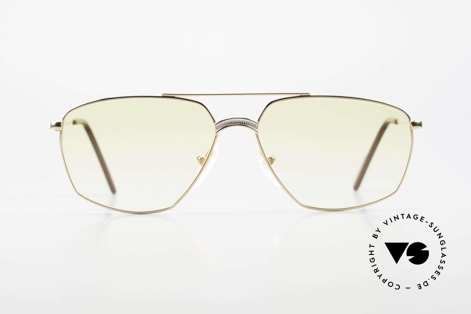 Alpina FM80 Yellow Gradient Sun Lenses, tangible, premium craftsmanship (Frame West Germany), Made for Men