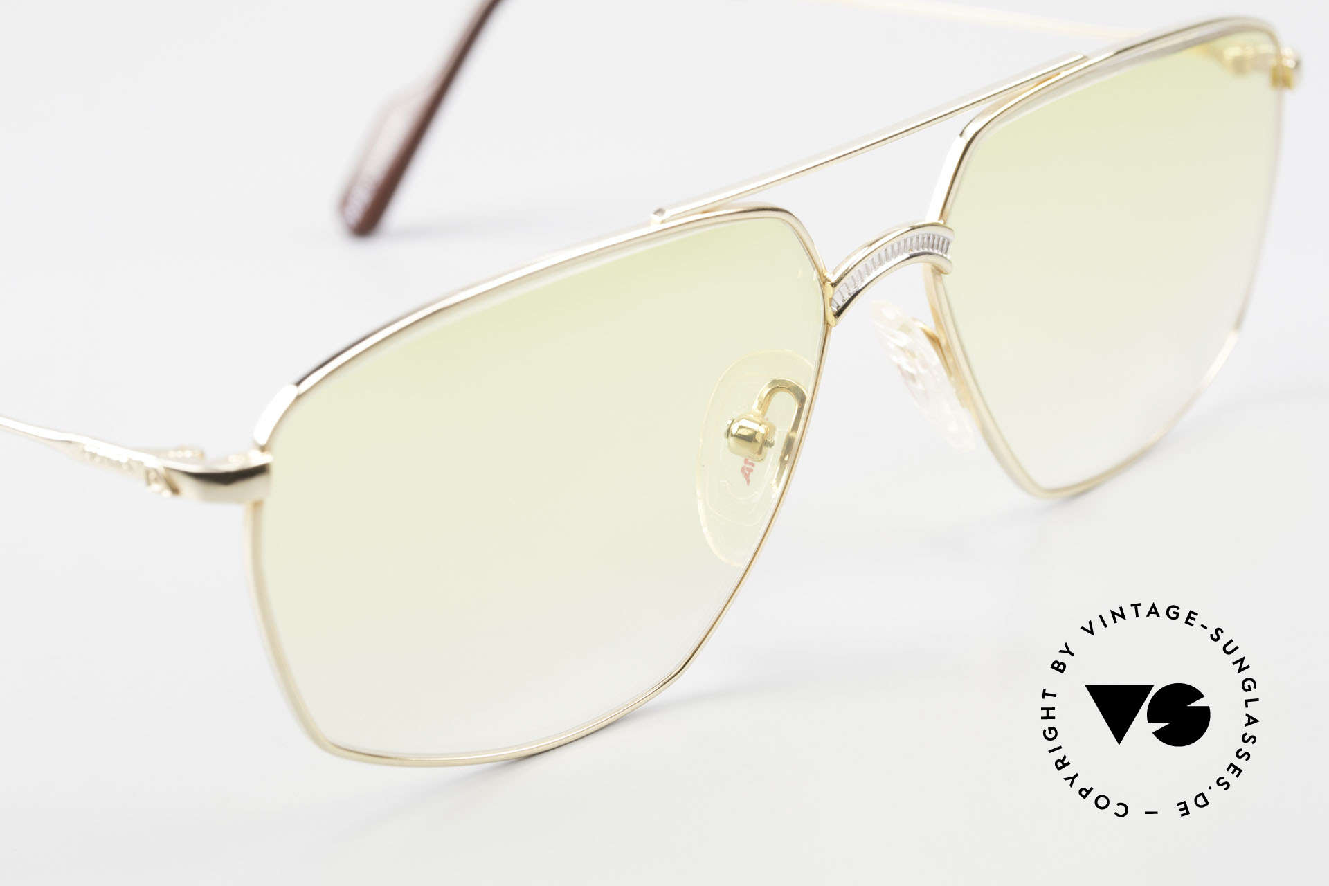 Alpina FM80 Yellow Gradient Sun Lenses, NO RETRO eyewear, but a precious old Alpina ORIGINAL, Made for Men