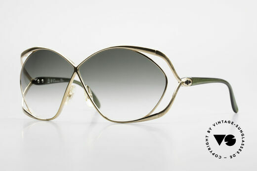 Christian Dior 2056 Butterfly 80's Sunglasses Details
