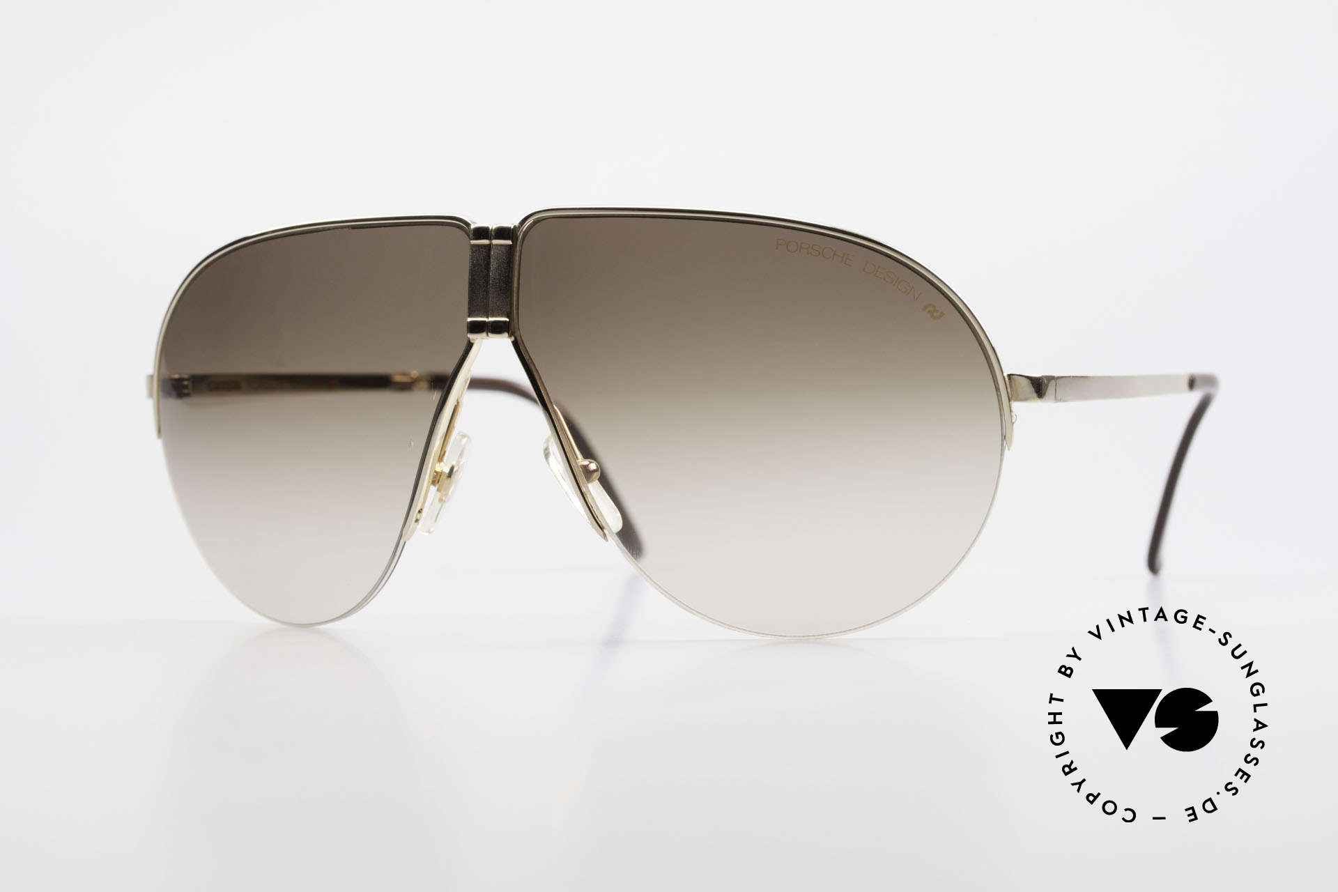 Porsche 5628 Rare 80's Folding Sunglasses, practical PORSCHE folding 1980's vintage sunglasses, Made for Men