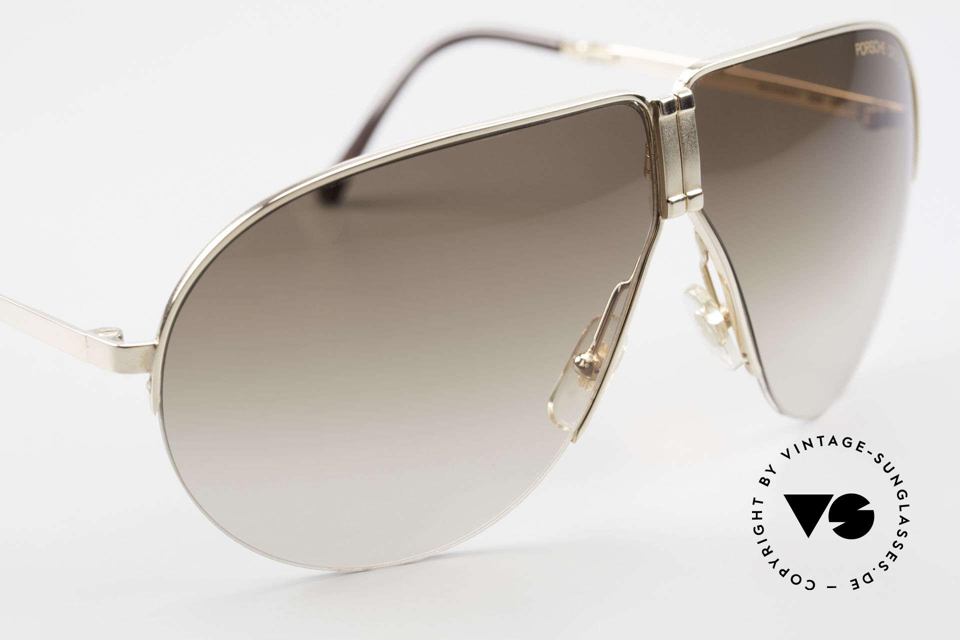 Porsche 5628 Rare 80's Folding Sunglasses, NO RETRO sunglasses; the rare ORIGINAL from 1988!, Made for Men