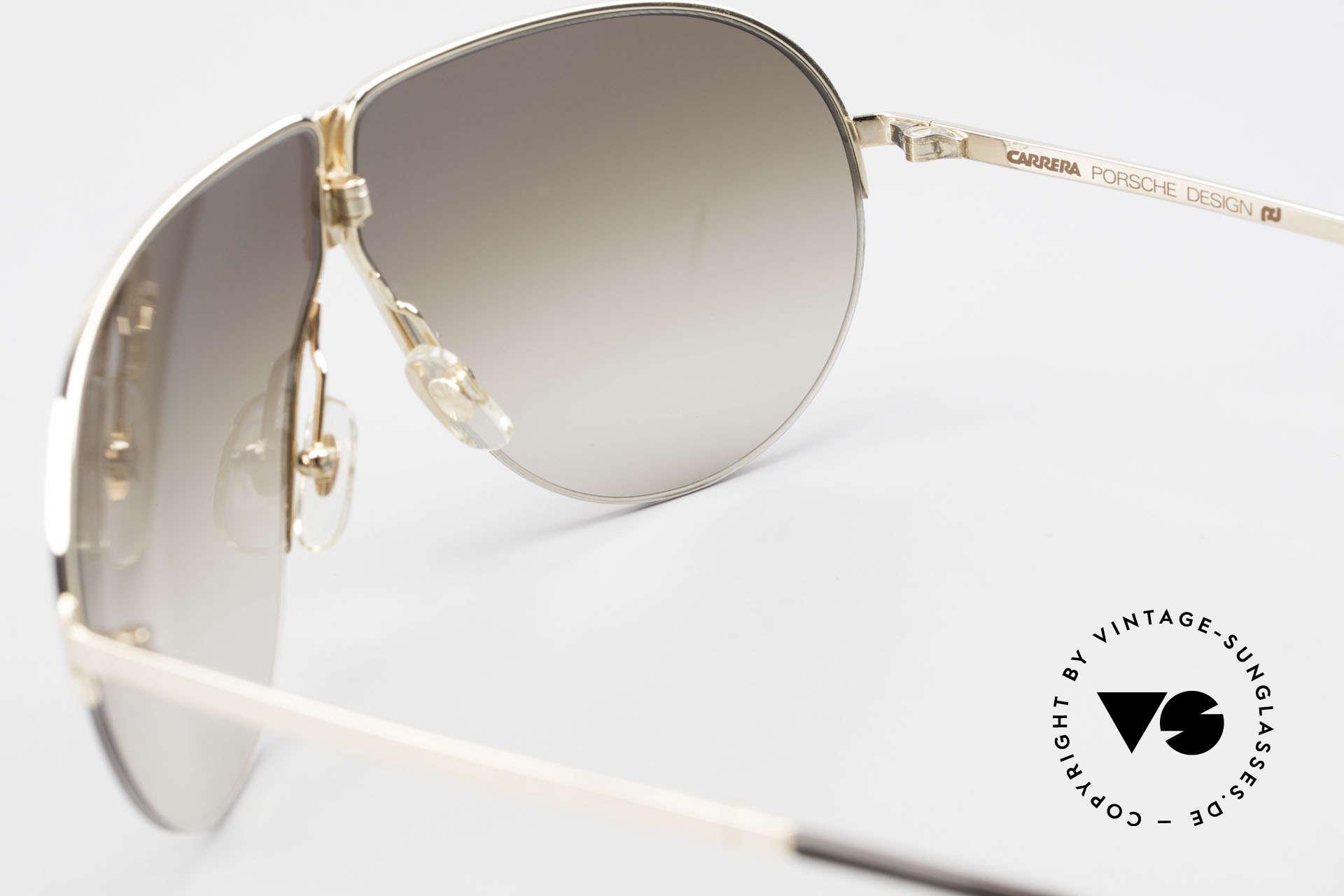 Porsche 5628 Rare 80's Folding Sunglasses, right lens has 2 TINY scratches, thus reduced to 369€, Made for Men