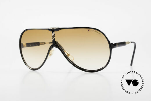 Maserati 6119 3 Lenses Sports Sunglasses Details