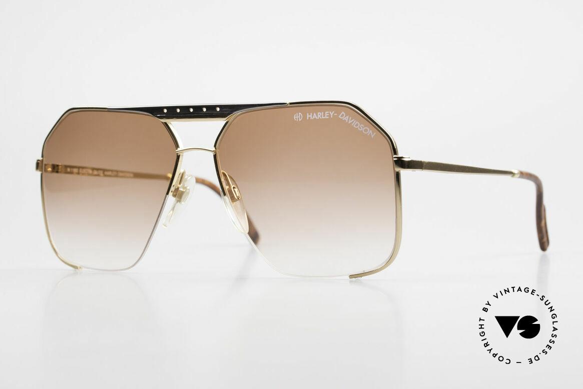 Harley Davidson 1160 Electra Glide 80's Original, ultra-rare, old 80's original Harley-Davidson sunglasses, Made for Men