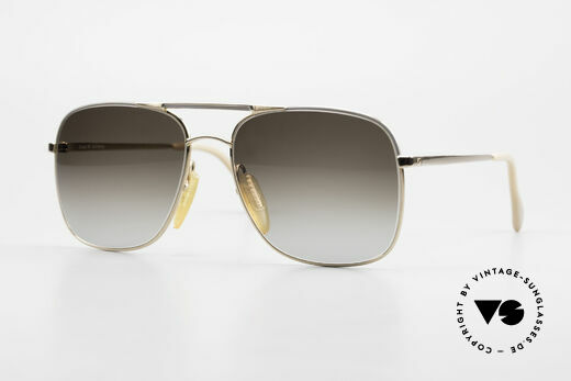 Zeiss 5881 Old 80's Sunglasses For Men Details