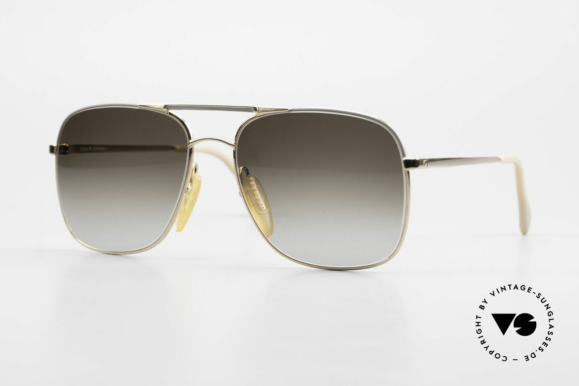 Zeiss 5881 Old 80's Sunglasses For Men, sturdy vintage eyeglass-frame by ZEISS from 1986, Made for Men