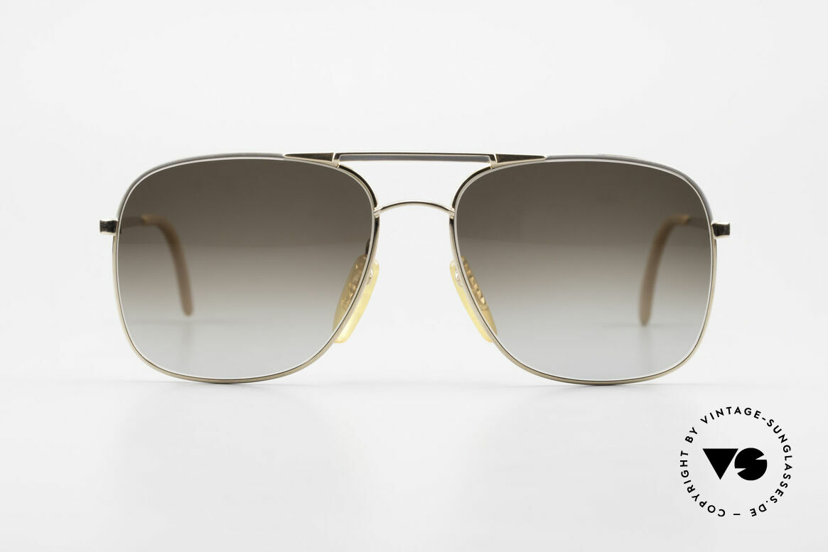 Zeiss 5881 Old 80's Sunglasses For Men, outstanding 'MADE IN W. GERMANY' craftsmanship, Made for Men