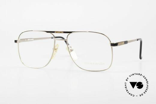 Pierre Cardin 804 Vintage Men's Eyeglasses 80's Details