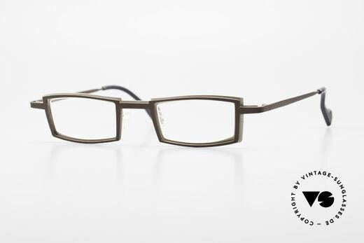 Theo Belgium Kwartet Designer Eyeglasses Vintage Details