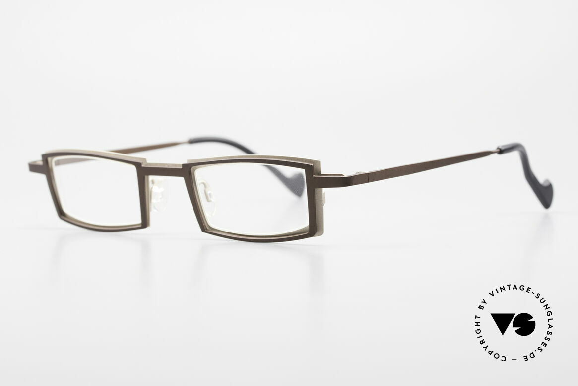 Theo Belgium Kwartet Designer Eyeglasses Vintage, made for the avant-garde, individualists, trend-setters, Made for Men and Women