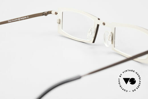 Theo Belgium Kwartet Designer Eyeglasses Vintage, so to speak: vintage eyeglasses with representativeness, Made for Men and Women