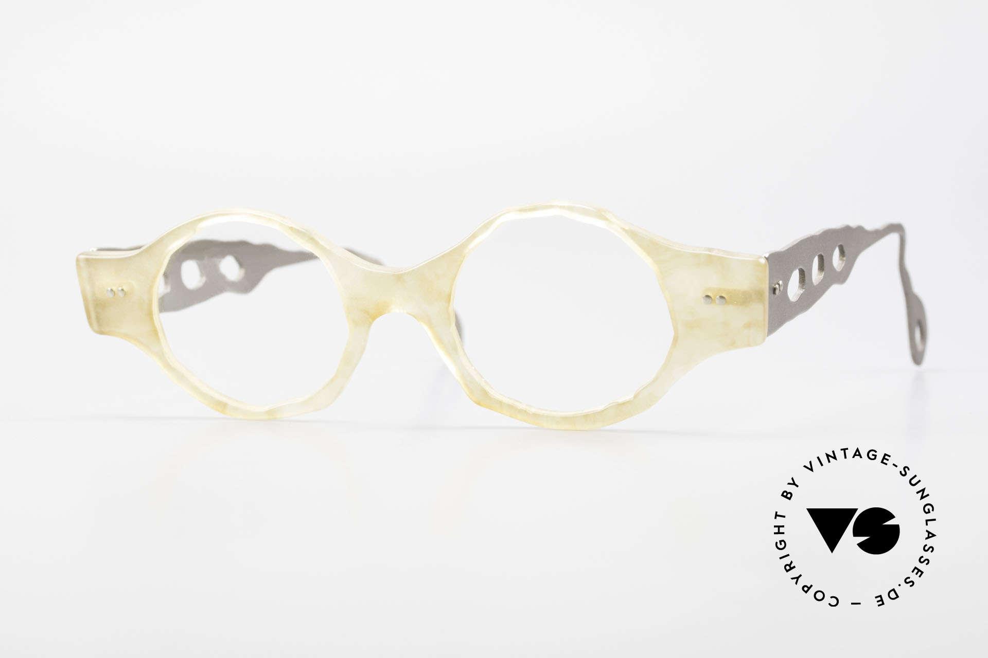 Theo Belgium Eye-Witness BK38 Avant-Garde Designer Glasses, Theo Belgium: the most self-willed brand in the world, Made for Men and Women