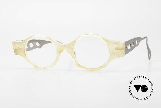 Theo Belgium Eye-Witness BK38 Avant-Garde Designer Glasses Details