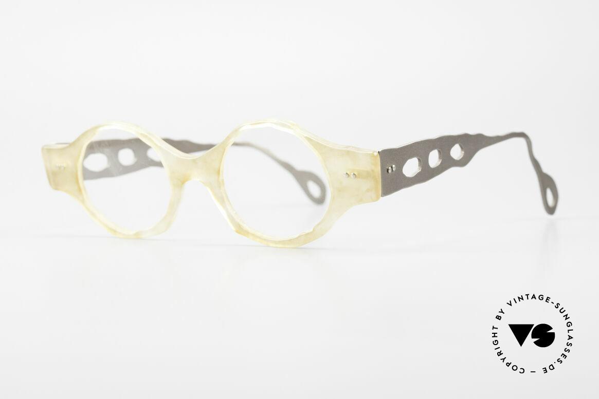 Theo Belgium Eye-Witness BK38 Avant-Garde Designer Glasses, made for the avant-garde, individualists; trend-setters, Made for Men and Women