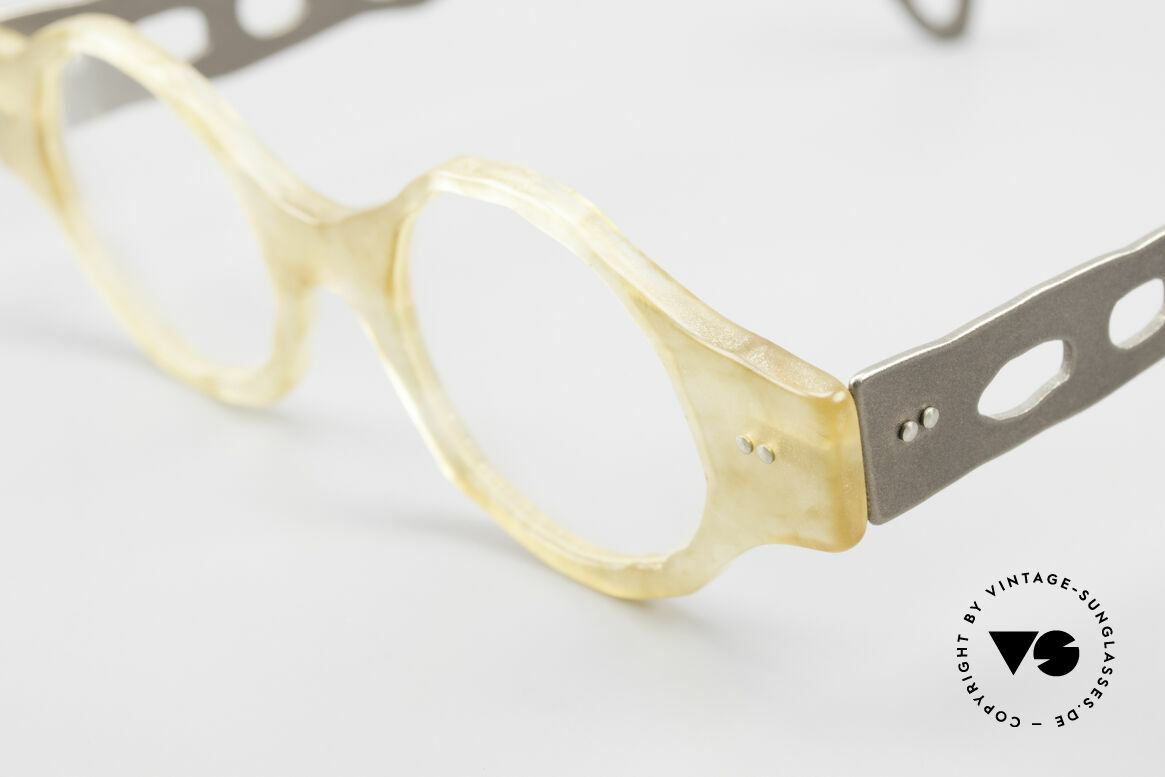 Theo Belgium Eye-Witness BK38 Avant-Garde Designer Glasses, the fancy 'Eye-Witness' series was launched in May '95, Made for Men and Women