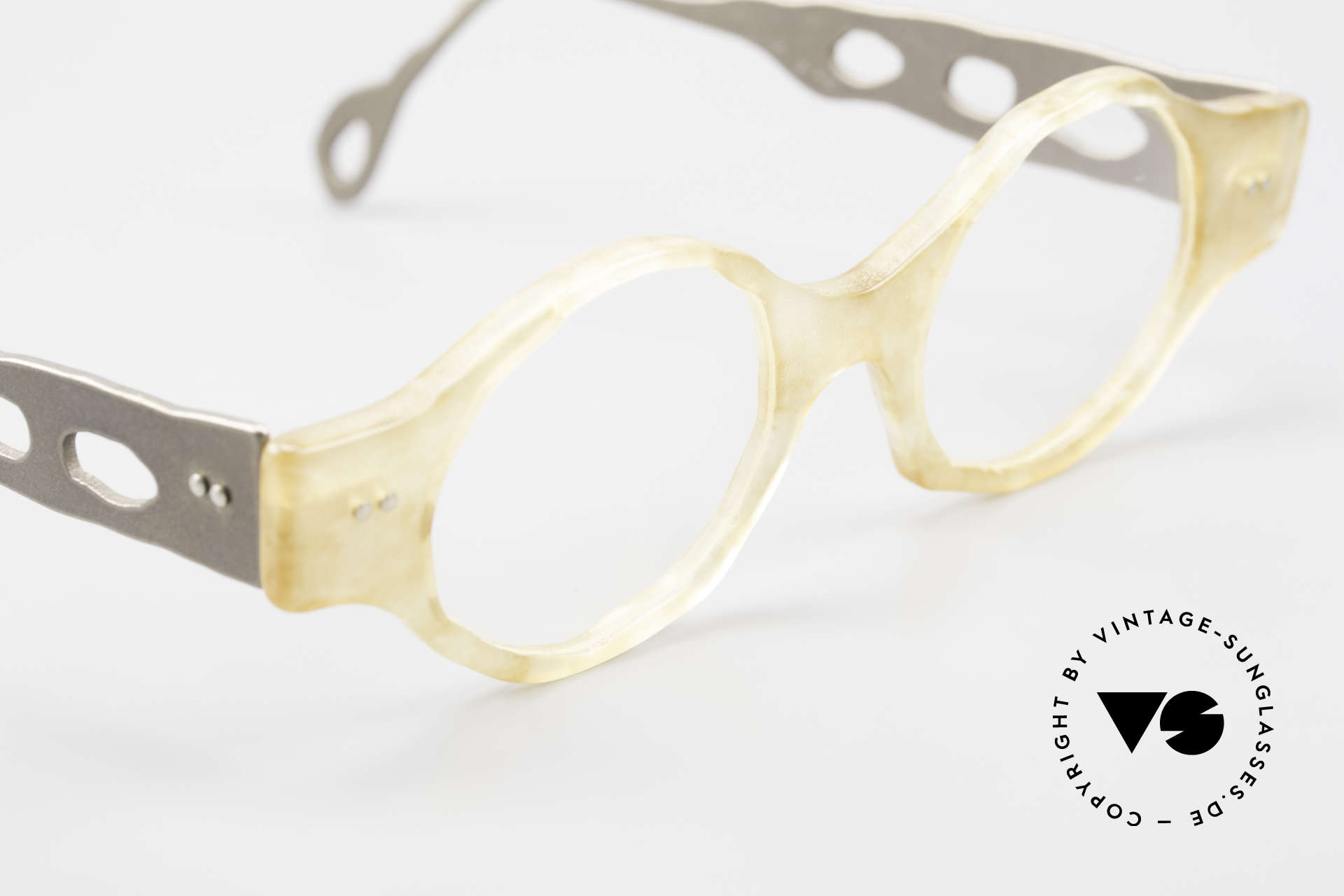 Theo Belgium Eye-Witness BK38 Avant-Garde Designer Glasses, unworn, one of a kind, THEO frames for all who dare ;), Made for Men and Women