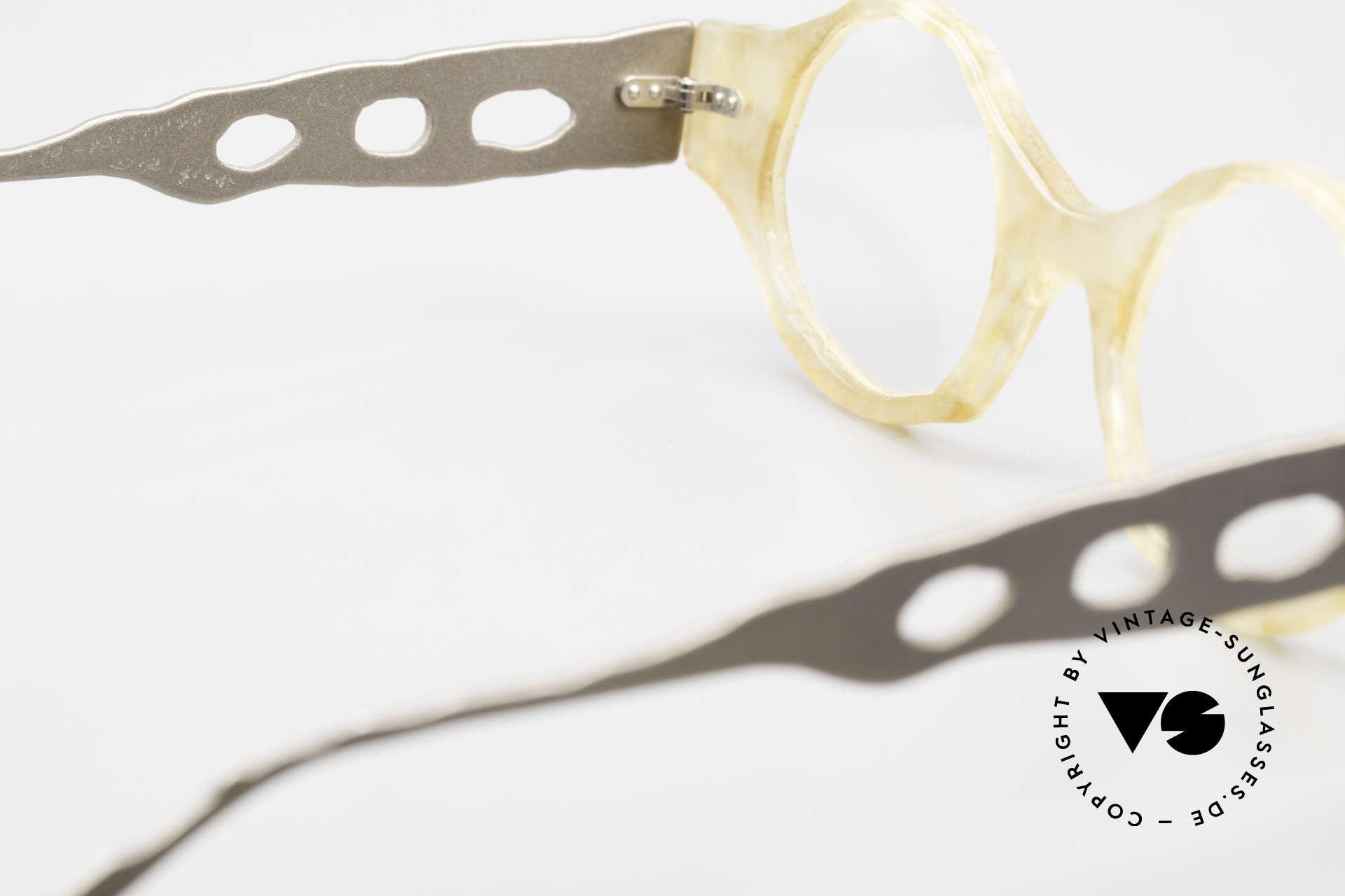 Theo Belgium Eye-Witness BK38 Avant-Garde Designer Glasses, so to speak: vintage eyeglasses with representativeness, Made for Men and Women