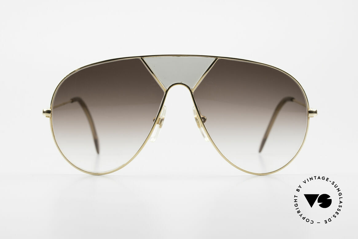Alpina TR3 Miami Vice Style Sunglasses, TR3 = TR4 wihout the brow bar (like in 'Miami Vice'), Made for Men
