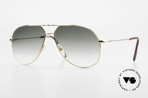 Alpina M1F750 Rare Old Aviator Sunglasses Details