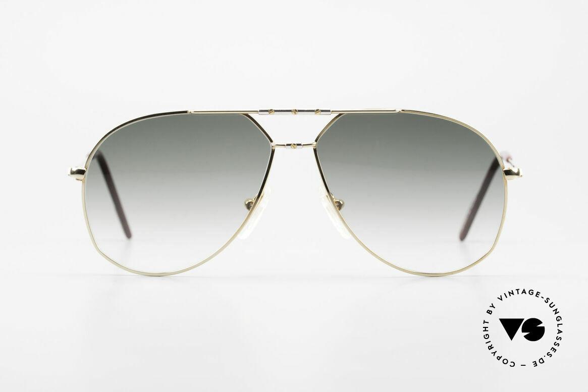 Alpina M1F750 Rare Old Aviator Sunglasses, rare, classic vintage aviator sunglasses by ALPINA, Made for Men