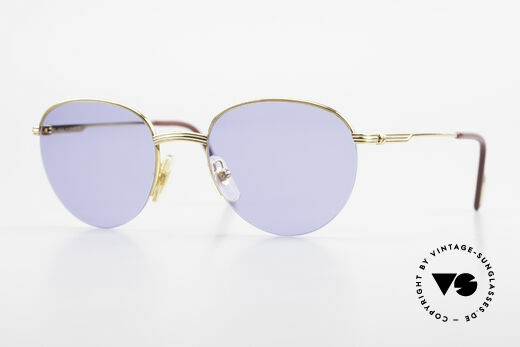 Cartier Colisee Round Luxury Sunglasses 90's Details