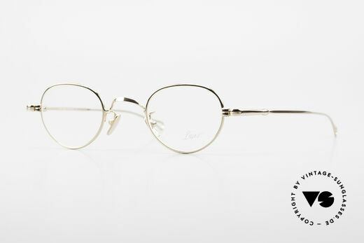 Lunor V 103 Timeless Gold Plated Glasses Details