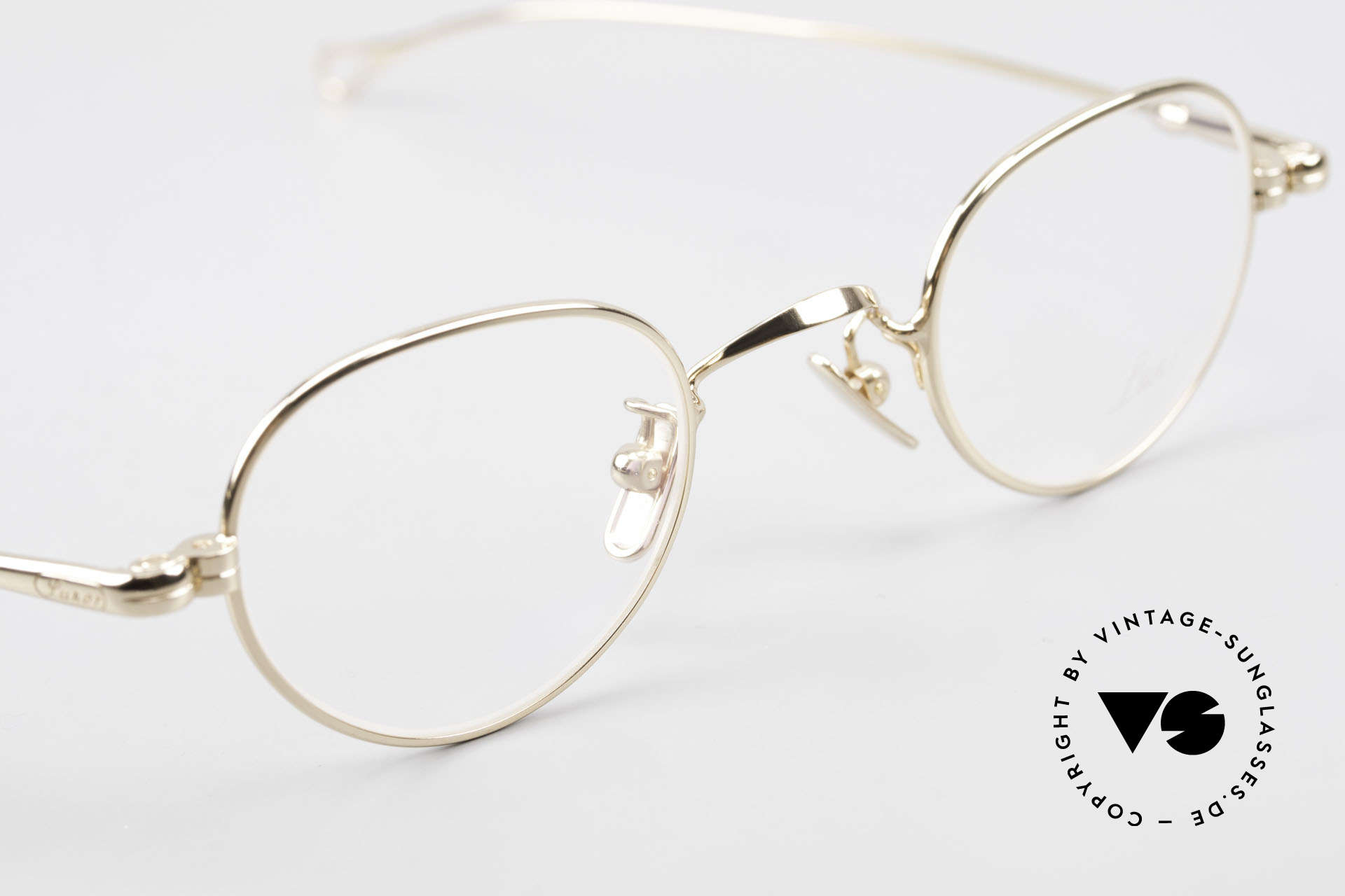 Lunor V 103 Timeless Gold Plated Glasses, thus, we decided to take it into our vintage collection, Made for Men and Women